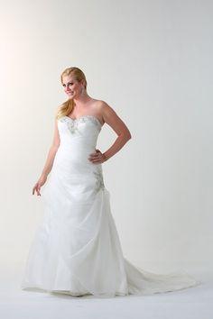 Venus Bridal VW8677. A Line Bridal Gowns, Wedding Gowns, Homecoming Dresses, Prom, Venus, One Shoulder Wedding Dress, Neckline, Fashion, Homecoming Dresses Straps