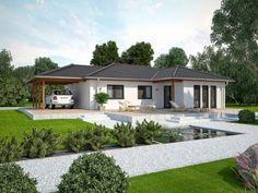 Fertighaus modern walmdach  Life 110 L Walmdach - #Einfamilienhaus von Bau mein Haus ...