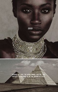 """""""I, Isis, am all that hath been that is or shall be,  I, who made light from my feathers, The wind  from my wings, No mortal man ever hath me  unveiled! - Until now."""" #myth"""