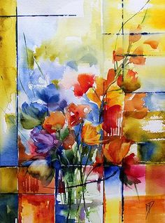 Discover great art by contemporary artist Véronique Piaser-Moyen. Browse artworks, buy original art or high end prints. Sketch Painting, Watercolor Sketch, Watercolor Illustration, Watercolor Flowers, Watercolor Paintings, Watercolors, Alcohol Ink Painting, Art Original, Art Moderne
