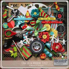 """Photo from album """"one in a million dad"""" on Yandex. Printable Scrapbook Paper, Digital Scrapbooking Freebies, Digital Scrapbook Paper, Printable Paper, Scrapbook Pages, Kit Digital, Digital Project Life, 1st Birthday Pictures, 2 Clipart"""