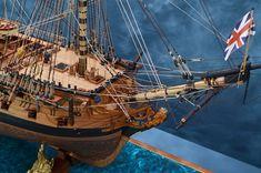 Ron Neilson Ship Models | HMS Ardent