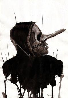 Fan Art of Chris Fehn from Slipknot