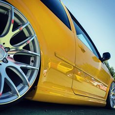 yellow /y/sunday with this #mk4 #golf #volkswagen #volkswagon #dapper #fapper…