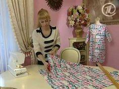 Ольга Никишичева. Платье-рубашка - YouTube