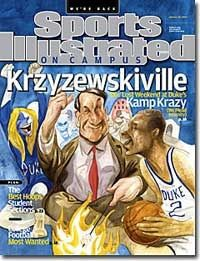 Krzyzewskiville Sports Illustrated Cover