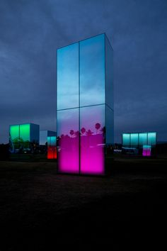 Reflection Field at Coachella by artist Phillip K. Smith