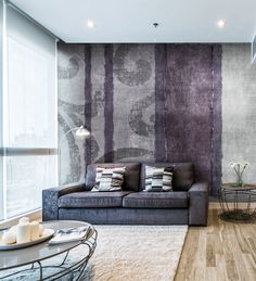 Panoramic wallpaper THERMAS Watercolor Collection by N.O.W. Edizioni