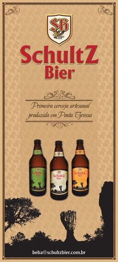 Banner Schultz Bier