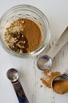I have recipes that call for pumpkin pie spice and this way I can make my own out of spices I already have rather than buying more!