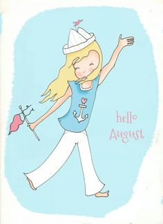 Hello August / Rose Hill Designs