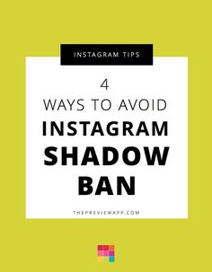 Follow these 4 steps to avoid Instagram shadowban. We show you how to spot unapproved apps and websites, hashtags and more. #entrepreneur #followback #startup #onlinebusiness