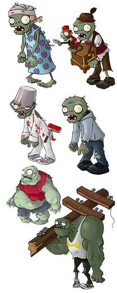 Rich Werner: Original Artist for Plants VS Zombies Zombie Kid, Zombie Monster, Zombie Birthday Parties, Zombie Party, 8th Birthday, Plants Vs Zombies Personajes, Michael Jackson Zombie, Zombies Vs, Ideas