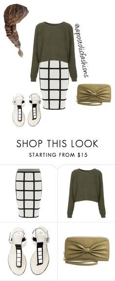 """""""Apostolic Fashions #1665"""" by apostolicfashions ❤ liked on Polyvore featuring Karen Millen, Topshop and Mossimo Supply Co."""