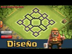 aldeas clash of clans ayuntamiento 8 - Google Search