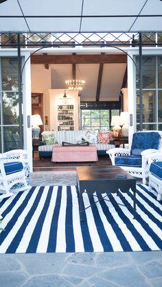 Hampton's Restored - Kathy Ann Abell Interiors   San Diego   Traditional Hampton's   Outdoor Seating Area