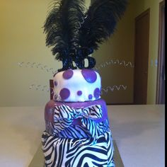 Makenna's 16th birthday cake I made.