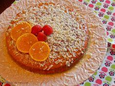 7gramas de ternura: Bolo de laranja e iogurte com calda de chocolate b...