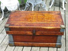 Reclaimed wook box cofee table