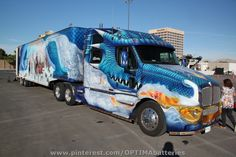 Another shot of the amazing Dragonmaster semi truck. This 2000 Kenworth sold at Barrett-Jackson Scottsdale in 2013 for $110,000