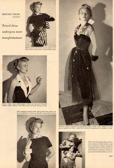 Coco'sRetroCloset: Flirting with Howard Greer - Transformation Dress