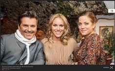 Kathi Wörndl (mitte), Servus TV / Einfach Kathi | Blouse F/W 12/13 |Rebekka Ruetz