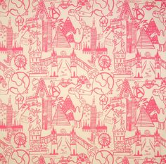 Home Decor Print Fabric-Eaton Square Taza-Bubble Gum Other, , hi-res Online Craft Store, Craft Stores, Eaton Square, Fabricut Fabrics, Joann Fabrics, Bubble Gum, Fabric Crafts, Printing On Fabric, Bubbles