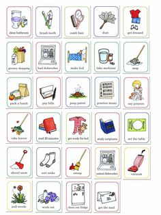susan fitch design: job chart.  I am a mother. And like most mothers, I am trying to teach my children how to work and how to take care of themselves. (which is also a polite way of saying that I'm tired of cleaning up after them!) So, I've made these cards to go with a job board I plan to order off of etsy.  You can double click the image for a larger view.  CLICK HERE TO DOWNLOAD