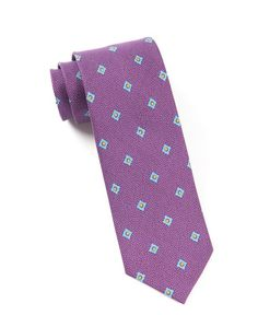 Speckled Geo Ties - Plum | Ties, Bow Ties, and Pocket Squares | The Tie Bar