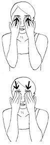 3 účinné cviky na spevnenie ochabnutých očných viečok - tvarova gymnastika