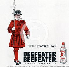 Beefeater - 'for the grownups hour'
