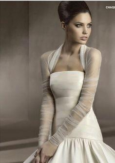 White Ivory Lace Bolero Shrug Jacket Wrap for Bridal Gown Wedding Party | eBay