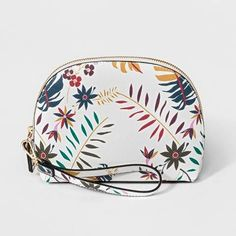 4a2b6a0ad34a A New Day Women s Wristlet Clutch - Target bag cute tropical summer white  casual floral purse