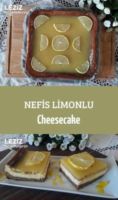 Nefis Limonlu Cheesecake