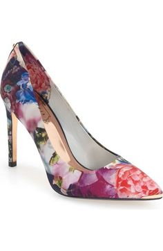 c3fbd14c75a2 TED BAKER  Neevo  Pointy Toe Pump (Women).  tedbaker  shoes  pumps