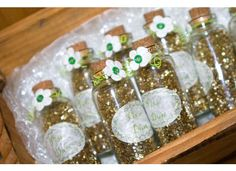 Tinkerbell Party Theme - Pixie Dust Bottles