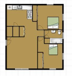 700 Sq Ft Apartment Google Search Studio 1 Project 3 Pinterest House Plans Squares And