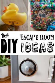 Escape rooms - The Game Gal Best DIY Escape Room Ideas Need ideas for an escape room that is easy and fun? Get tips and learn h Escape Room Diy, Escape Room For Kids, Escape Room Puzzles, Kids Room, Diy Paper, Summer Fun, Crafts For Kids, Birthdays, Room Ideas