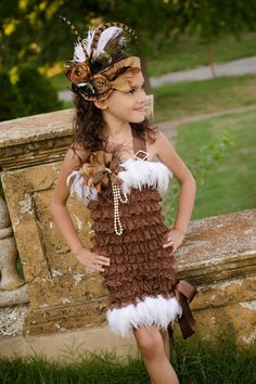 Couture Sahara Desert Laced Dress by sharpsissors on Etsy, $128.00