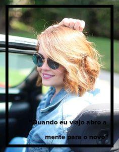 """Saiba tudo sobre as viagens da Karol Pinheiro: """"Quando eu viajo abro a mente para o novo"""" #cabelos #moda #viagem"""