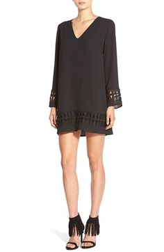 ASTR ASTR Crochet Shift Dress available at #Nordstrom