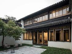 View the full picture gallery of Historic House Renovation In Suzhou Ancient Chinese Architecture, Japan Architecture, Residential Architecture, Architecture Office, Futuristic Architecture, Modern Exterior, Exterior Design, Traditional Chinese House, Chinese Style