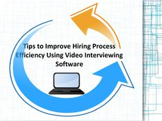 Tips to improve hiring process efficiency  Interview Vista is the ideal choice for organizing the interview session thoroughly depended on the digital medium. Though some lucid and simple steps this company arrange every minute detail that takes to be included while digital interview. Read in Details.
