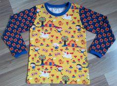 """Langarmshirts - Shirt """"Kunterbunt"""" Gr. 56-116 - ein Designerstück von ElliundMo bei DaWanda"""
