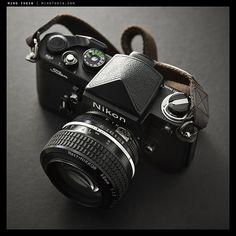 Nikon F2 Black Titan w/ 58/1.2 AIS Noct-Nikkor