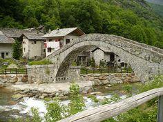 Valchiusella. Province of Turin. Italy