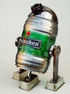 Une bière H2D2