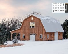 Barn Great Plains Gambrel Barn project by Sand Creek Post & Beam. View this gallery for ideas on your next dream barn. Gambrel Barn, Gambrel Roof, Barn House Plans, Barn Plans, Barn Living, Barns Sheds, Country Barns, Pole Barn Homes, Dream Barn