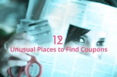 12 Weird Places to Find Coupons, Deals and Discounts