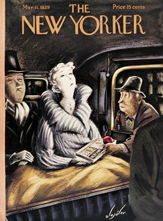The New Yorker - Saturday, March 11, 1939 - Issue # 734 - Vol. 15 - N° 4 - Cover by : Constantin Alajalov